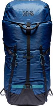 Mountain Hardwear Scrambler 35 37L Alpine Climbing Backpack, M/L Blue