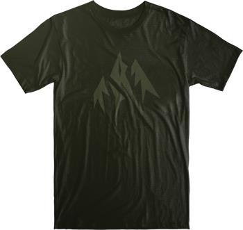 Jones Mountain Journey Organic Cotton Short Sleeve T-Shirt, S Green