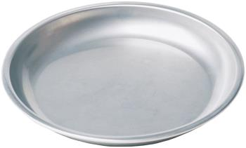 MSR Alpine Plate Stainless Steel Camping Plate, Silver