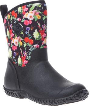 Muck Boot Muckster II Mid Women's Wellies, UK 4 Black/Night Floral