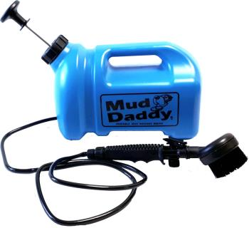 Mud Daddy 8 Litre Dog Washer Multipurpose Pressure Cleaner, 8L Blue
