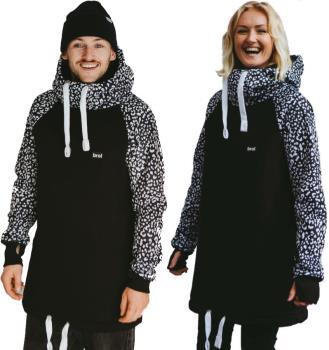 bro! Chill N'shred Unisex Ski/Snowboard Hoodie, XXL Inverted Wildcat