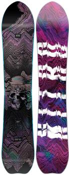Nitro Dropout Positive Camber Snowboard, 153cm Mid Wide 2021