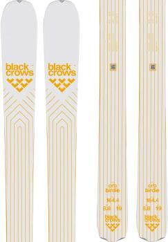 Black Crows Orb Birdie Women's Skis 159cm, White/Gold, Ski Only, 2022