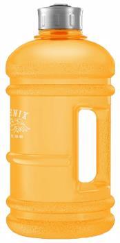 Phoenix Fitness Gym Hydration/Water Bottle, 2L Orange