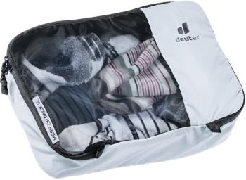 Deuter Mesh Zip Pack 3 Travel Organiser Bag, 3L Tin-Black