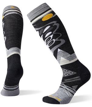 Smartwool PhD® Ski Medium Pattern Women's Ski Socks, S Black