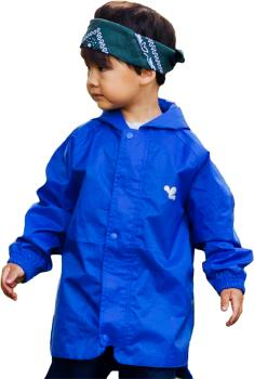 Muddy Puddles Originals Kids Waterproof Jacket, 3-4yrs Blue