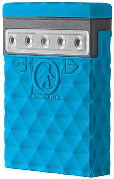 Outdoor Tech Kodiak Mini 2.0 Portable Battery Pack & Charger, Blue