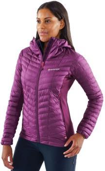 Montane Phoenix Stretch Women's Hiking Jacket UK 14 Saskatoon Berry