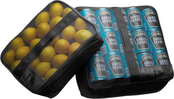 Douchebags The Pack Bags Packing Cubes (2 Pack), L/XL Black
