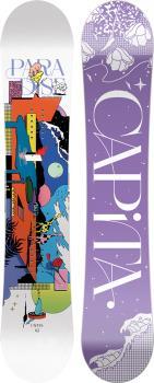 Capita Paradise Women's Hybrid Camber Snowboard, 143cm 2022