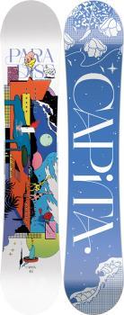 Capita Paradise Women's Hybrid Camber Snowboard, 145cm 2022