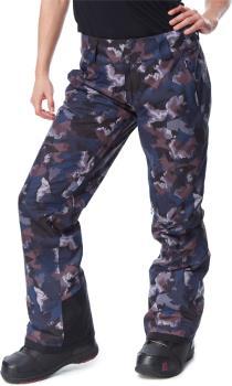 Patagonia Insulated Snowbelle Reg Women's Ski Pants, S Maple Camo