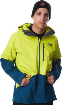 Patagonia Snowshot Snowboard/Ski Jacket, M Chartreuse