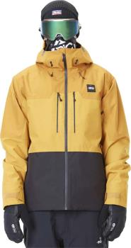Picture Mens Object Insulated Snowboard/Ski Jacket, M Camel/Black