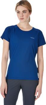 Rab Pulse SS Tee Women's T-Shirt, UK 10 Blueprint