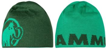 Mammut Logo Beanie Reversible Wool Hat, Light Emerald-Woods