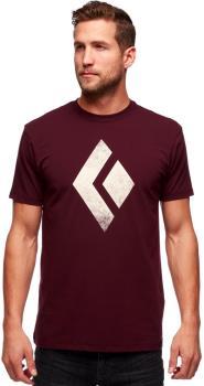 Black Diamond Chalked Up Tee Rock Climbing T-shirt, L Port