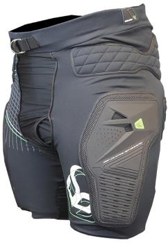 Demon Shield Mountain Bike Impact Shorts, L Black