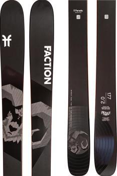 Faction Prodigy 2.0 Ski Only Skis, 171cm Black 2021