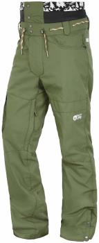 Picture Under Ski/Snowboard Pants, S Army Green