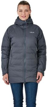 Rab Valiance Women's Insulated Parka Jacket, M / UK 12 Steel