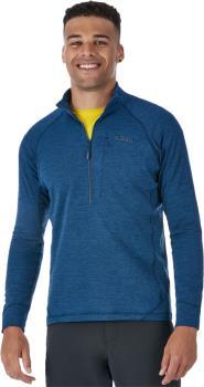 Rab Nexus Pull-On Half-Zip Hiking Fleece, L Deep Ink