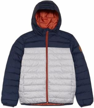 Quiksilver Scaly Youth Padded Puffer Jacket, Age 11-12 Moonlit Ocean