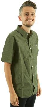 Mountain Hardwear Franz Men's Shirt - L, Surplus Green