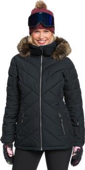 Roxy Quinn Women's Snowboard/Ski Jacket M True Black