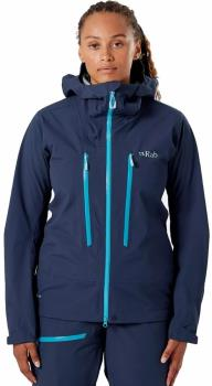 Rab Khroma Kinetic Womens Ski/Snowboard Jacket, M Deep Ink