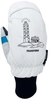 Transform Antti Jussila Ski/Snowboard Mitts, XL White