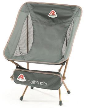 Robens Pathfinder Lite Chair Lightweight Compact Camp Chair Granite