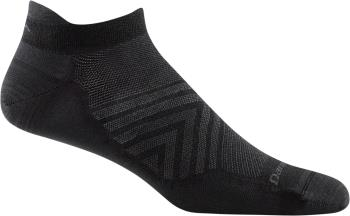 Darn Tough Run No-Show Tab Ultra-Light Running Socks, M Black