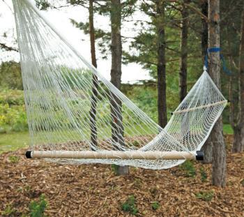 Coghlan's Compact Hammock Camping & Garden, Single White/Blue