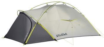 Salewa Litetrek 3 Lightweight Backpacking Tent, 3 Man Grey/Cactus