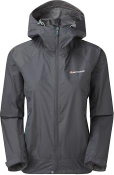Montane Womens Meteor Women's Waterproof Hiking Jacket, Uk 12 Slate Grey