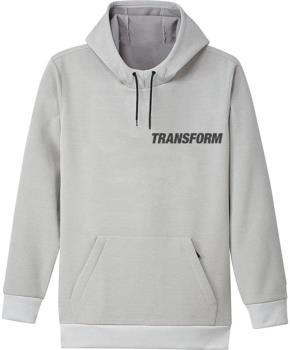 Transform Se12 Softshell Technical Hoodie, M Sliver