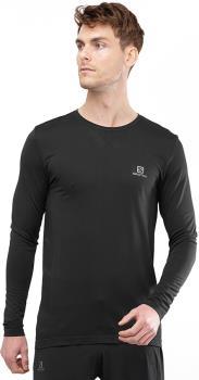 Salomon Sense Longsleeve Running Sport Top, XL Black