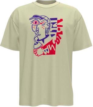 Nike SB Slurp Short Sleeved T-Shirt, M Off White