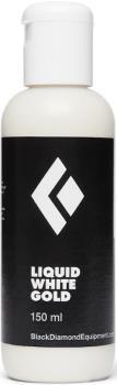 Black Diamond Liquid White Gold Chalk Rock Climbing Gym Chalk, 150ml