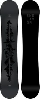 Endeavor Clout Hybrid Camber Snowboard, 149cm 2019