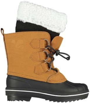 Muddy Puddles Snowdrift Kids Snow Boots, UK 11 Junior Tan