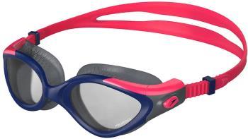 Speedo Futura Biofuse Flexiseal Tri Smoke Women's Swim Goggles, Red