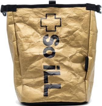 So iLL Tyvek Rolldown Bucket Rock Climbing Chalk Bag, One Size Gold