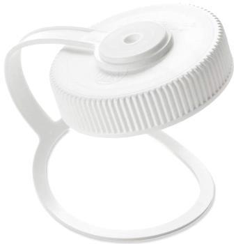 Nalgene Wide Mouth Replacement Looptop Bottle Cap, White