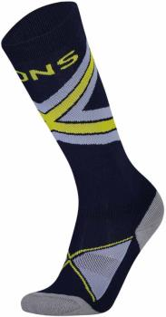 Mons Royale Lift Access Women's Ski/Snowboard Socks S Navy/Blue Fog