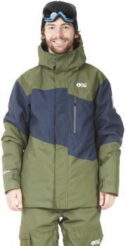 Picture Styler Ski/Snowboard Jacket, M Dark Blue/Army Green