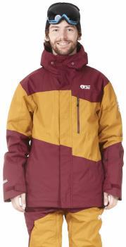 Picture Styler Ski/Snowboard Jacket, L Camel/Ketchup